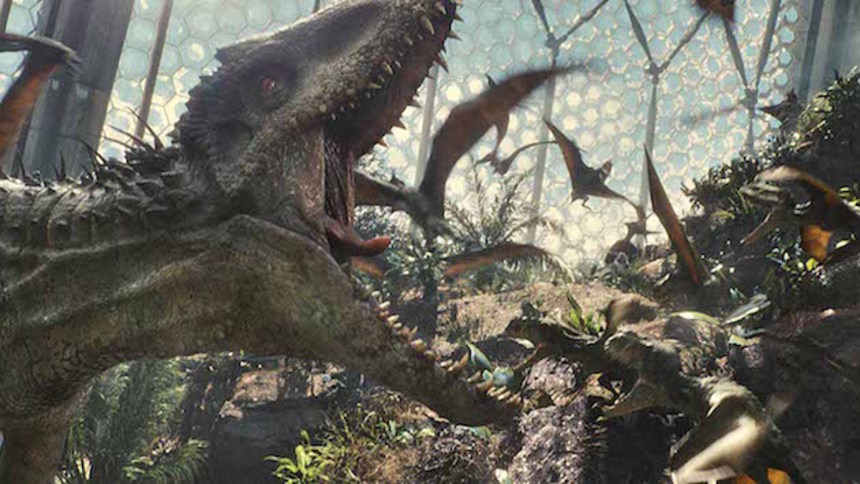 Destroy All Monsters: It's A JURASSIC WORLD, And Apparently I Don't Live There Any More