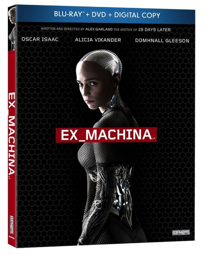Hey, Canada! Win Alex Garland's Scifi Hit EX MACHINA On Blu-Ray!