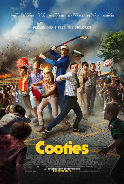 "COOTIES: The Red Band Clip Wants To Know, ""Who's That Lady"""