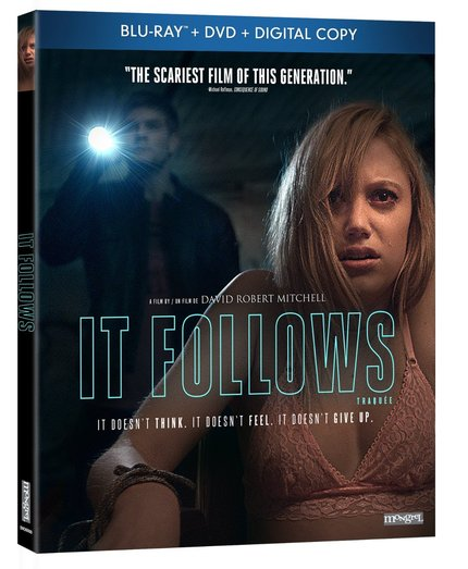 Hey, Canada! Win Hit Indie Horror IT FOLLOWS On Blu-Ray!