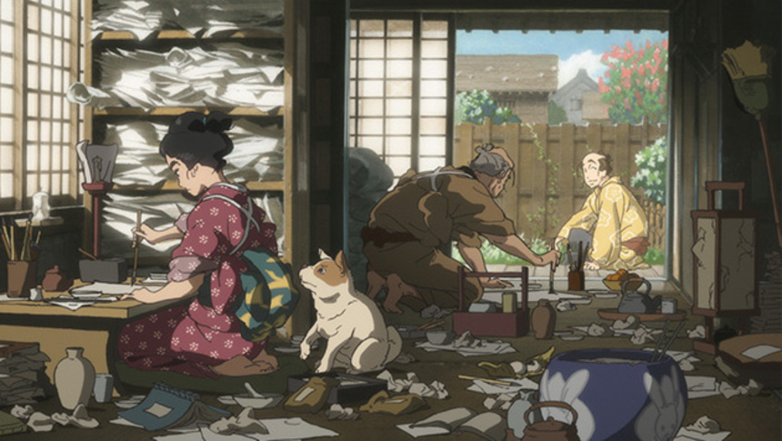Fantasia 2015 Review: MISS HOKUSAI, Full Of Life And Spirit