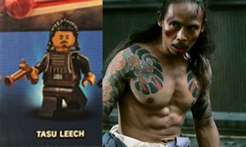 STAR WARS Rumors: Is Lego Minifig Tasu Leech THE RAID's Yayan Ruhian?