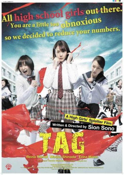 Fantasia 2015 Review: Sono Sion's TAG, Sure There Are Lots Of Japanese Girls In It, But...