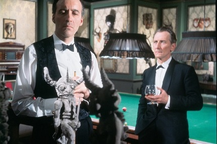 Christopher Lee And Peter Cushing Reunited In THE SKULL, Coming To Blu-ray