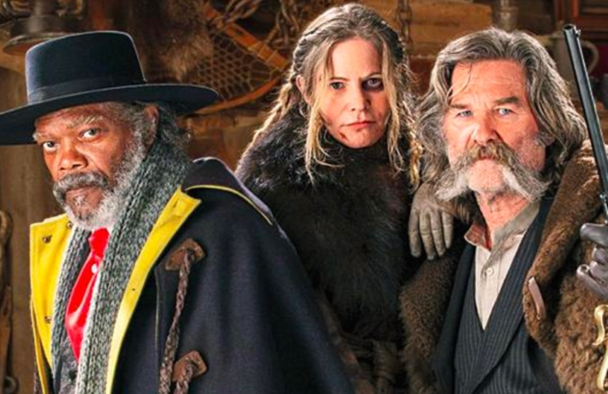 Here's THE THING About THE HATEFUL EIGHT Trailer, Paranoid Men Holed Up In A Cold, Tight Spot