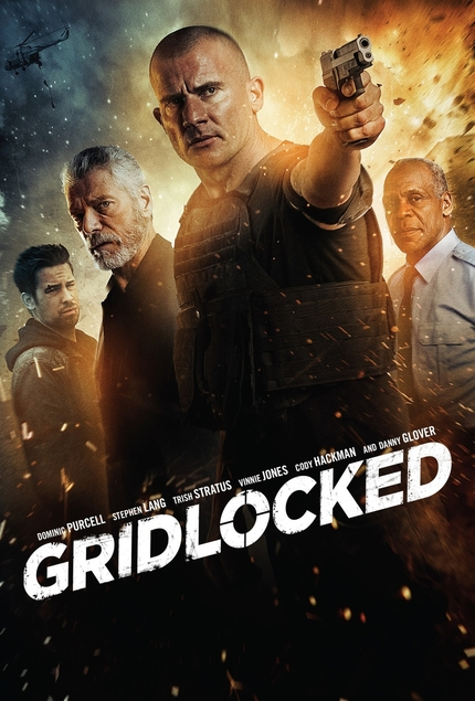 Dominic Purcell Kicks Ass In First Clip From GRIDLOCKED