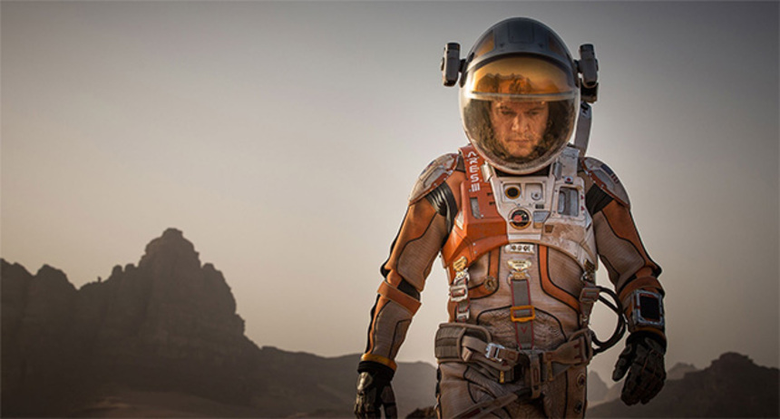 Toronto 2015 Review: THE MARTIAN, A Thrilling, Entertaining Space Flick