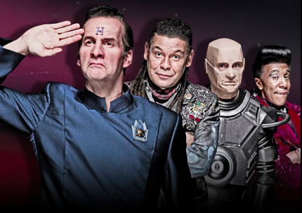 Smoke Some Kippers, The RED DWARF Bunch Will Be Back For Breakfast