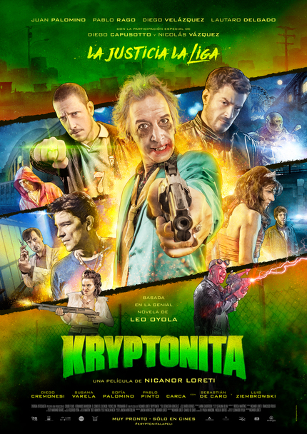 Mar Del Plata 2015 Review: KRYPTONITA Puts A Darkly Satirical Spin On Superhero Conventions
