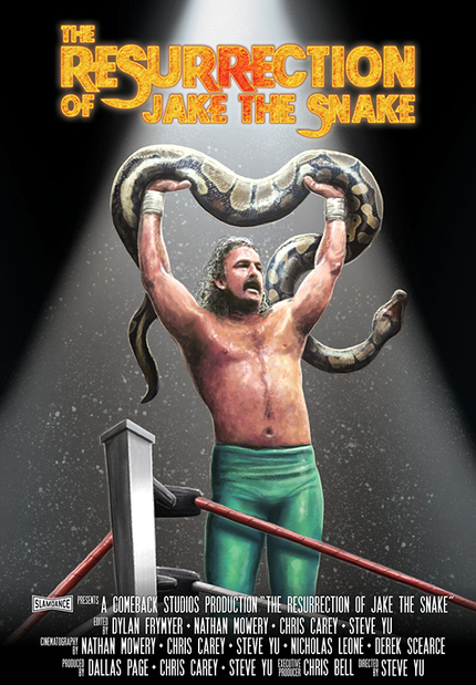 "THE RESURRECTION OF JAKE THE SNAKE Interview: Jake ""The Snake"" Roberts And Director Steve Yu Talk Overcoming Addiction"