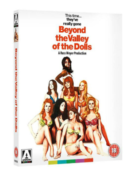 This Is Arrow Video's Happening, Man, And It Freaks Me Out! BEYOND THE VALLEY OF THE DOLLS Coming To Blu-ray