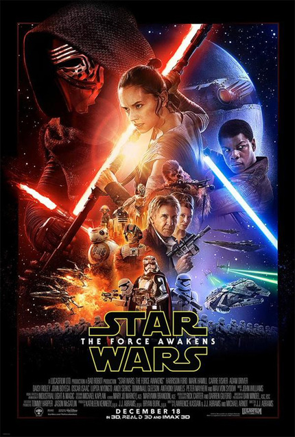 New STAR WARS: THE FORCE AWAKENS Poster