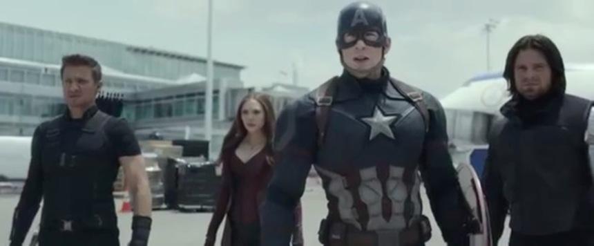 """Cap's """"Perfect Teeth"""" A Threat In First CAPTAIN AMERICA: CIVIL WAR Trailer"""