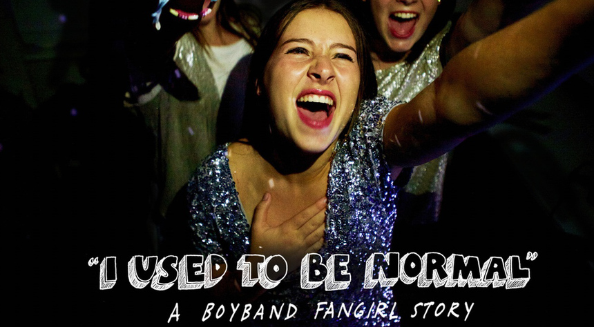 Crowdfund This! Squeal Along With I USED TO BE NORMAL: A BOYBAND FANGIRL STORY