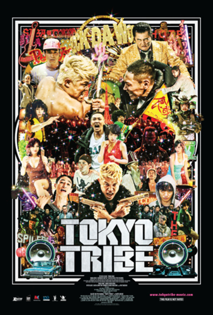 Giveaway: Win A Blu-ray Of Sono Sion's TOKYO TRIBE From XLrator Media