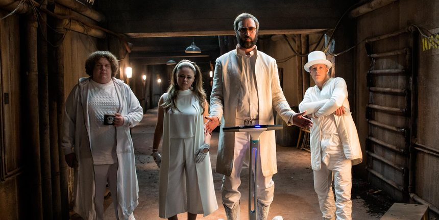 Praise Jobs! Tom Green Stars In The First Footage From IRON SKY: THE COMING RACE