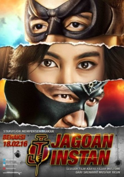 Indonesia Gets Into The Superhero Game With JAGOAN INSTAN