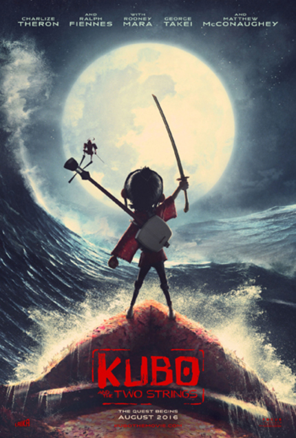 KUBO AND THE TWO STRINGS: Watch The Full Trailer For Laika's Latest Stop Motion Spectacular