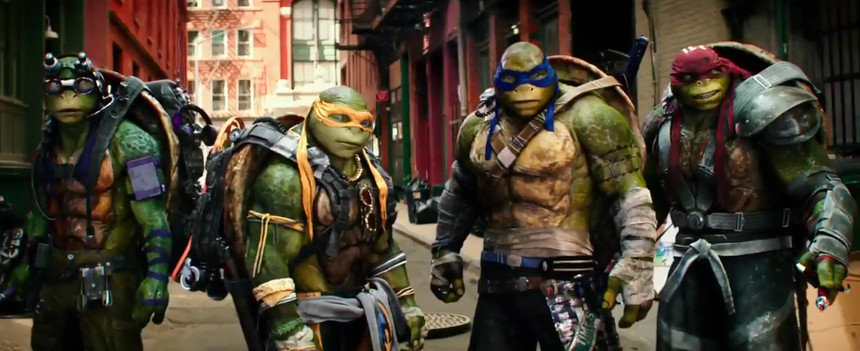 TMNT 2 Trailer Gets Back To Silly Basics