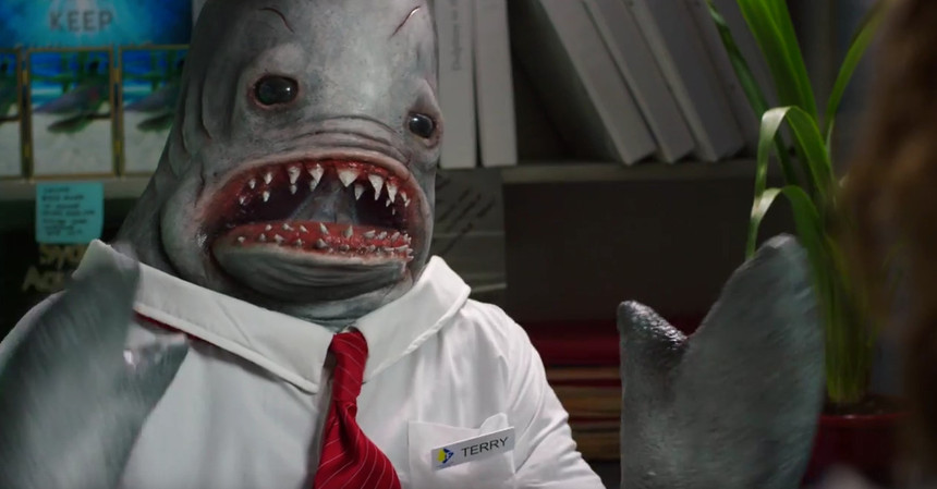 Terry The Shark Says Hello To The First WIZARDS OF AUS Trailer
