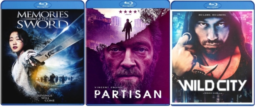 Giveaway: Win A Well Go USA Blu-ray Prize Pack! PARTISAN, WILD CITY And MEMORIES OF THE SWORD