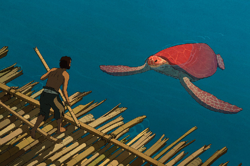 THE RED TURTLE Swims Ashore September 2016