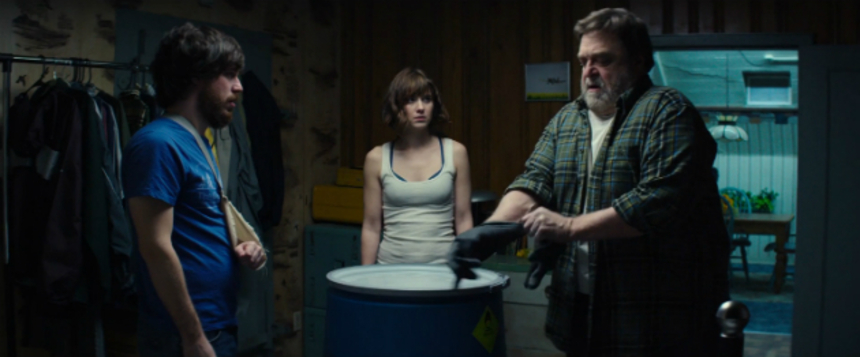 "10 CLOVERFIELD LANE Trailer Arrives Unexpectedly: ""Something's Coming"""