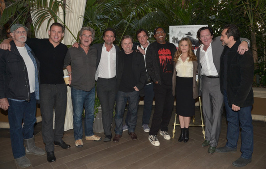 Interview: THE HATEFUL EIGHT Los Angeles And New York Press Conferences