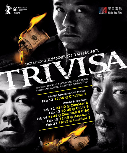 TRIVISA: Watch The Trailer For Johnnie To Produced Crime Thriller