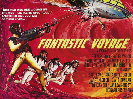 Guillermo del Toro Taking FANTASTIC VOYAGE