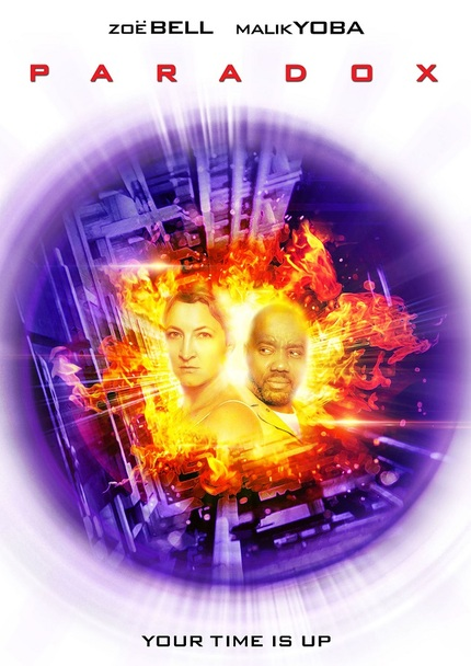 PARADOX: Key Art For Time Travel Flick Starring Zoe Bell