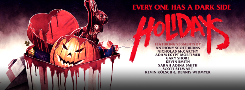 HOLIDAYS: Trailer Hits And Release Date Announced For Horror Anthology