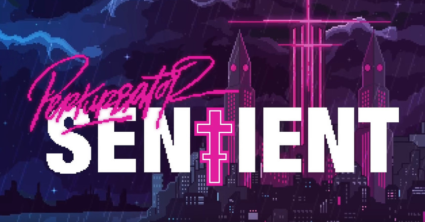 Perturbator's Sentient Video May Be The Greatest Retro Cyber Punk Video Game That Never Was
