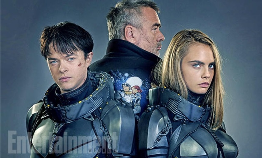 Luc Besson Shows Glimpses At VALERIAN AND THE CITY OF A THOUSAND PLANETS