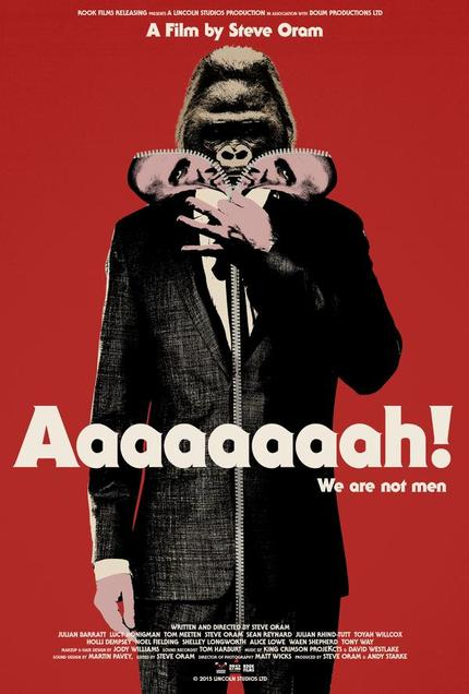 "Rotterdam 2016 Interview: Director Steve Oram Talks AAAAAAAAH! ""Not Everyone Would Have Wanted To Have Somebody's Testicles On Forehead"""