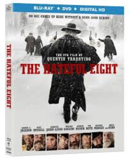Now On Blu-ray: THE HATEFUL EIGHT, Tarantino's Latest Hits Home Video