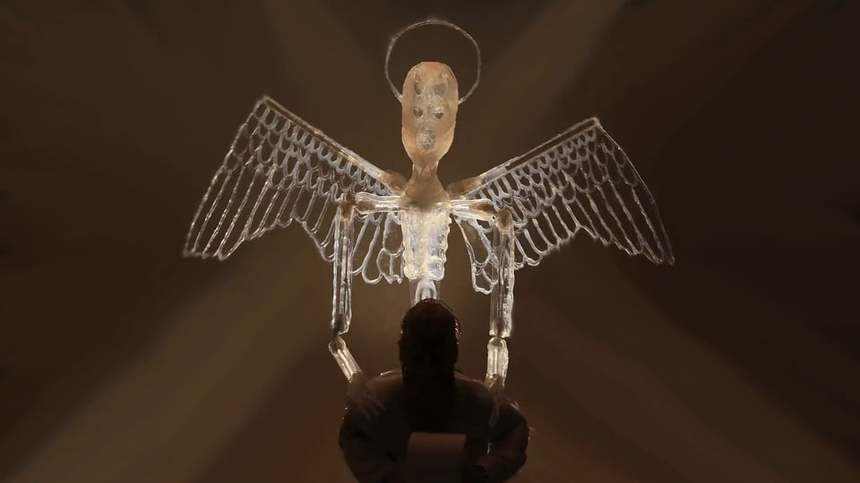APOCALYPSIS (THEOSIS): Watch The Trailer For Eric Leiser's LAtest Stop Motion Oddity
