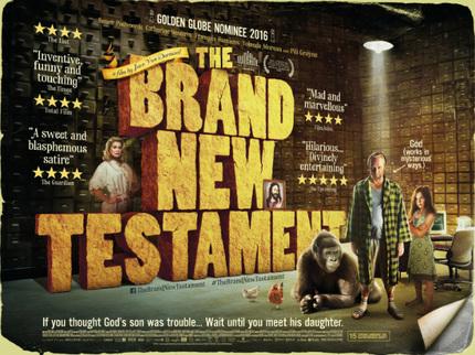 THE BRAND NEW TESTAMENT: Jaco van Dormael Talks Surrealism, Charlie Hebdo, God, And More