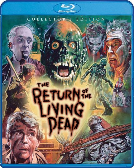 Blu-ray Review: THE RETURN OF THE LIVING DEAD Gets A Definitive Release From Scream Factory
