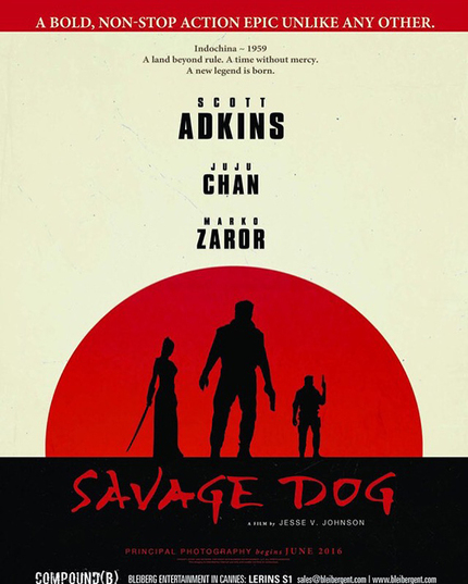SAVAGE DOG: Marko Zaror And Scott Adkins Are Reuniting!