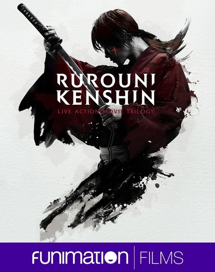 Battousai Makes His Pilgra|mage To The U.S. With The RUROUNI KENSHIN Trilogy From Funimation Films!