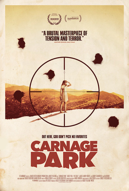 Review: CARNAGE PARK is a Shrill Scream into the Desert Void