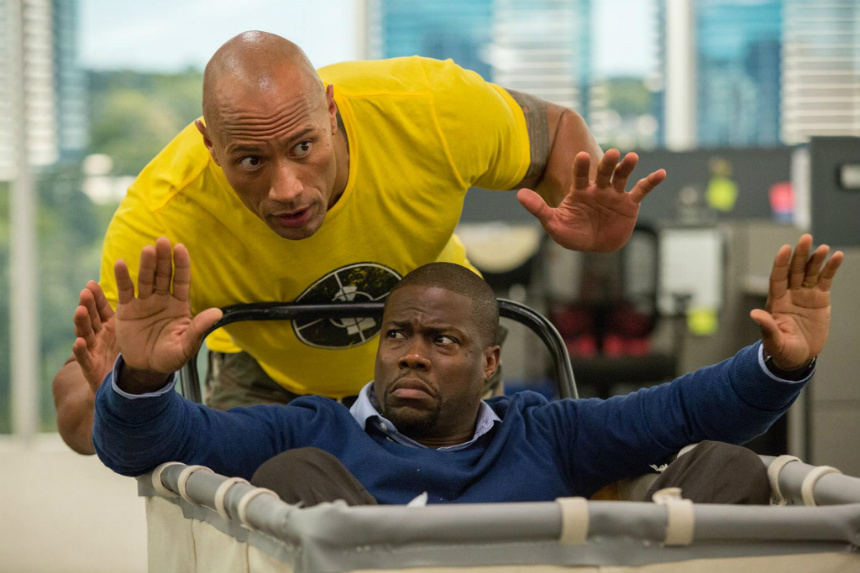 Review: CENTRAL INTELLIGENCE, Lowbrow Comedy Hijinks