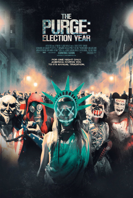 Gamera Obscura: The Best Five Minutes of THE PURGE: ELECTION YEAR Are Clichéd and Nonsensical