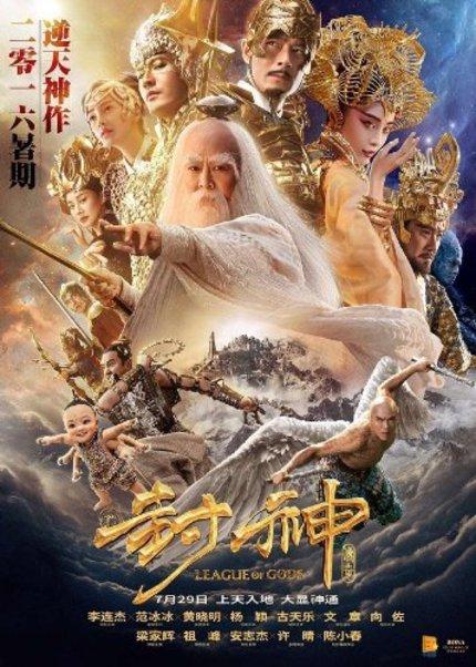 LEAGUE OF GODS Brings Big Star, Big Budget Fantasy To China