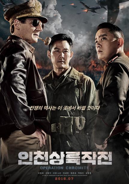 OPERATION CHROMITE: Liam Neeson Is General MacArthur In Full Trailer For Korean War Film