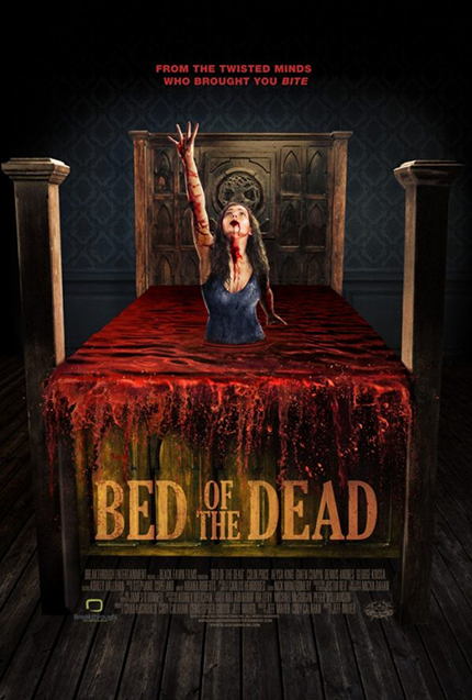 BED OF THE DEAD: First Trailer Promises Restless Nights And Lots of Blood