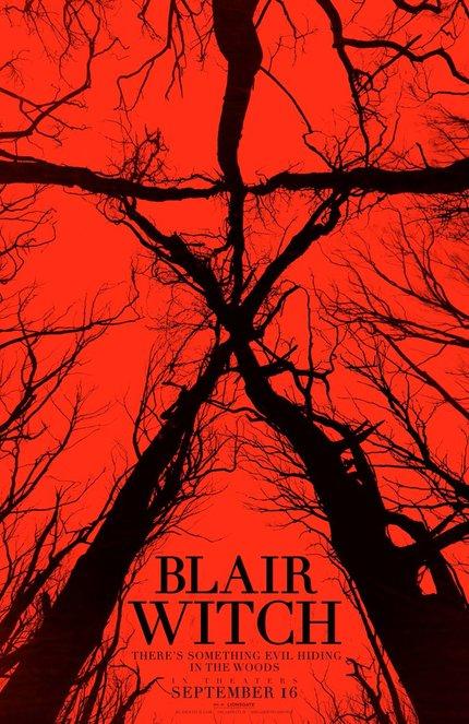 Adam Wingard's BLAIR WITCH Trailer Ventures Into The Woods