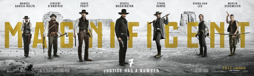 Second MAGNIFICENT SEVEN Trailer Arrives And - Again - Is Way Better Than Expected