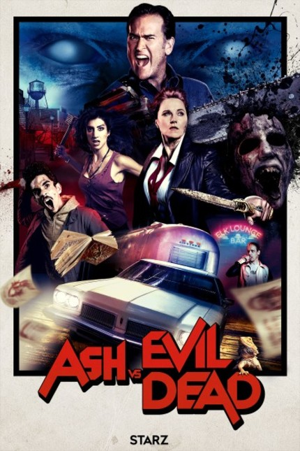 Bruce Campbell Ain't Afraid of No Evil in ASH VS EVIL DEAD Season 2 Red Band Trailer